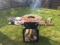 Extraordinary design hand made barbecue