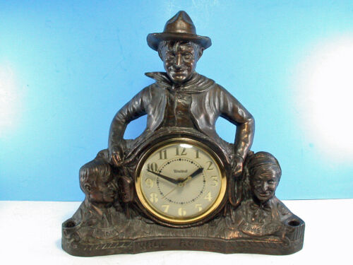 United Will Rogers Clock