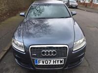 Audi A6 Saloon Automatic 2.0 TDI S Line 4dr (CVT)£3,400 2007 (07 reg), Saloon, CHEAP INSURANCE HELP