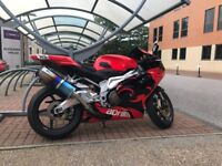 Aprilia RSV Mille R, 2006, red, MOT'D, very good condition, Blue Flame exhausts. Tel: 07956255209