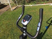Exercise bike with digital display like new