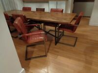 Barker & Stonehouse Huge Industrial Dining Table Unique & individual