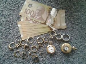 wanted gold jewelry,, broken gold, unwanted gold, anything GOLD