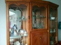 Yew solid wood dresser sideboard unit
