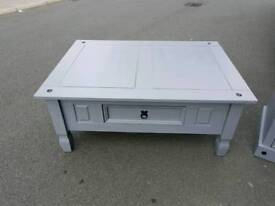 ABSOLUTELY STUNNING SHABBY CHIC SOLID WOOD COFFEE TABLE FOR SALE