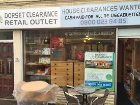 Dorset Clearance - House Clearance & Waste Disposal. We pay CASH for all re useable items.