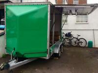 Trailer tow-a-van 10' X 14' X 8' Market Traders Stall or Workshop Bargain!
