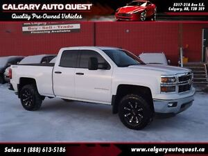2014 Chevrolet Silverado 1500 LT/Z71 5.3L 4X4 Double Cab/LIFTED/