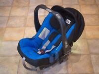 Britax Baby Safe SHRII Car Seat+ISOFIX+Carrycot