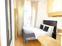 MODERN studio with fully fitted kitchen and private bathroom in Bloomsbury, Russell Square ZONE 1