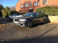Bmw e46 325i msport with £800 private plate and diamond cut £1000 alloys