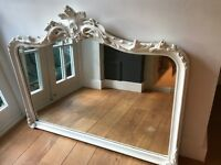 White Laura Ashley Mirror