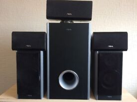 AIVA SSX-VX55, 5.1 HOME CINEMA SPEAKERS, FULLY WORKING, CRYSTAL CLEAR SOUND, EXCELLENT CONDITION.