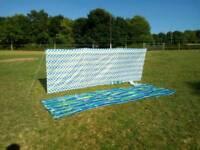 Wind break windbreaker windbreak camping beach picnic BRAND NEW spots or stripes