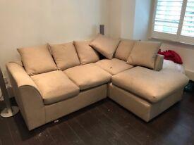 Corner Sofa - Seats up to 3