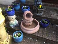 GARDEN WATER FEATURE (REDUCED TO £60)
