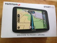 """Ex Display TOMTOM Start 62 6"""" Sat Nav - with UK, ROI & Full Europe Maps"""