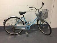 Vintage Ladies Baby Blue Single Speed Bike