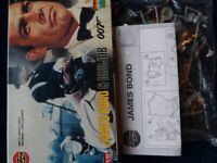 James Bond & Oddjob Airfix kit 1/12 scale