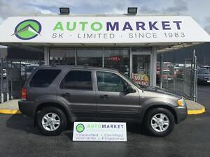 2002 Ford Escape XLT, 4x4, Moon, Insp, warr