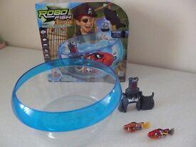 Robo fish set 2x fish