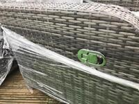Outdoor Garden Conservatory rattan reclining seats (2) - free delivery available