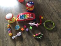 Job lot musical instruments