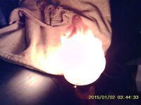 old oak table light