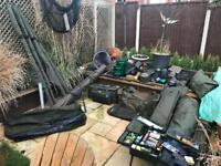 Fishing tackle bundle Fox shimano trakker