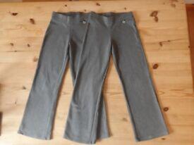 SCHOOL TROUSERS - NEXT - 2 pairs - Girls – £9
