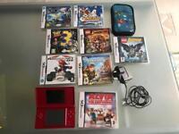 Nintendo DS + 8 Games