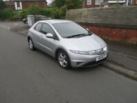 2007 Honda Civic 2.2 cdti Diesel 71K VERY LOW Miles - Excellent condition not toyota vaux jazz auto