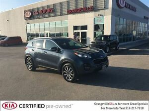 2017 Kia Sportage EX Premium AWD *CPO* Leather/Pano Roof