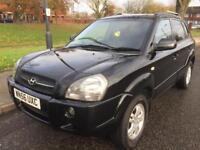 2006 HYUNDAI TUCSON LIMITED EDITION CRTD 2.0L DIESEL 2 FORMER KEEPER SERVICE HISTORY 6 SPEED GEARBOX