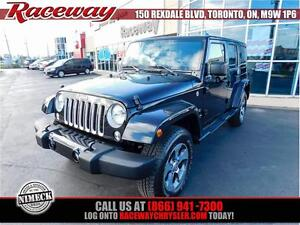2016 Jeep Wrangler Unlimited Sahara 4x4|Hard-top|NAV