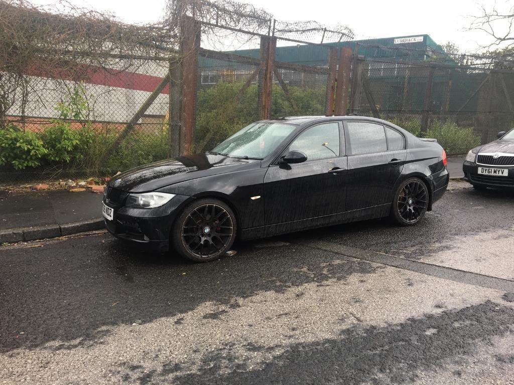 Bmw 320d e90 se 2006 Black spare of repairs | in Oldham, Manchester |  Gumtree
