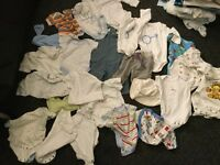 Boys clothes bundle 0 - 3 months 69 items £25