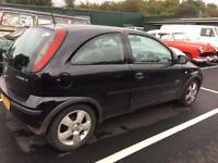 Vauxhall Corsa 1.2 spares and repair
