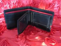 Stylish bifold genuine leather wallet / purse / card holder for men