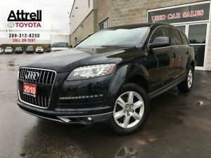 2010 Audi Q7 5 PASSENGER, LEATHER, ALLOY WHEELS, TINTED WINDOWS