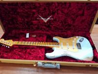 Fender custom shop 56 stratocaster with mid boost circuit