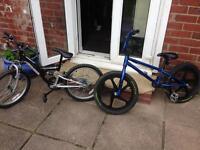 Khe bikes and mountain bike