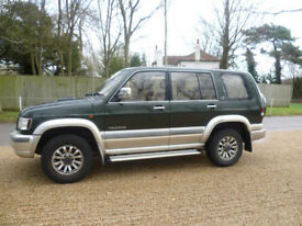 Isuzu Trooper 3.0 Diesel Turbo LWB 2000 X Reg, 7 seats, New Mot.