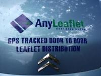 GPS Tracked Leaflet Delivery Services covering Newcastle, Durham and Sunderland.