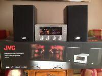 JVC Wireless micro DAB Hi-Fi with Valve Amplifier 150W