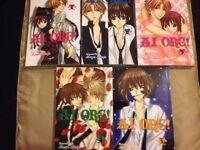 Ai ore 1-5 manga set