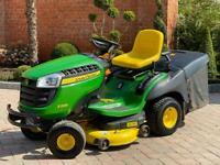 "John Deere X155R Ride on mower - 42"" deck - lawnmower / Toro / Honda"