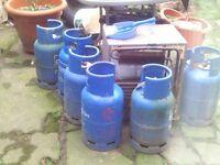 caravan empty 7 kg gas bottle