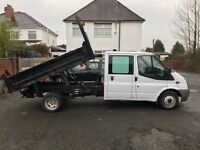Ford Transit Crew Cab Tipper For Sale