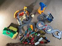 Bundle of Thomas the tank engine take n play sets / trains